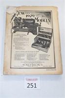1929 Automotive Repair Book