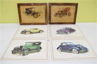 Vintage Car Placemats