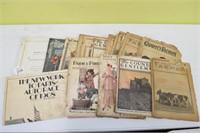 1915-1920's Magazines
