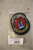 TWO CITY OF TORONTO FIRE DEPT BADGES