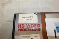 BOX-HD VIDEO PROCESSING CONVERTOR