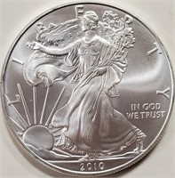 2010 - SILVER AMERICAN EAGLE DOLLAR (1oz)