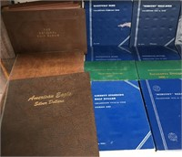 LOT OF EMPTY COIN BOOKS - SEE PICS (B13)