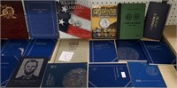 LOT OF EMPTY COIN BOOKS - SEE PICS (B12)
