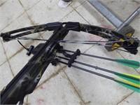 Barnett crossbow w/ site & arrows