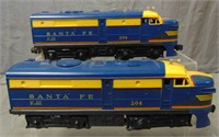 Boxed Lionel 204 SF Alco AA Diesels