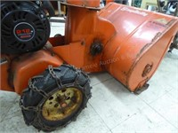 "Simplicity 24"" snowblower (turns over & has compr"