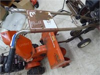 "18"" front tine rototiller 212 cc motor (turns ove"
