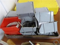 Organizer trays (some contents)