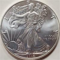 2016 - SILVER AMERICAN EAGLE DOLLAR (1oz)