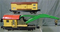 Lionel 2810 & 2814 Freight Cars