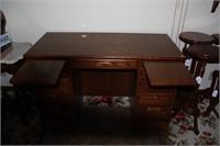 Nice Desk, Swivel Office Chair & Desk Mat