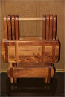 Wood Folding Stool