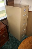 4-Drawer Steel File Cabinet