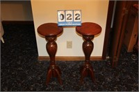 Pair Matching Plant Stands