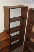 Lot of Book Shelves & Shoe Storage Box