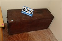 Vintage Wood Chest/Foot Locker