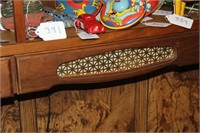 Nice Wall Shelf w/Drawers (Contents Not Included)