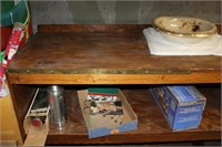 Vintage Display Shelf (Contents Not Included)