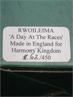 Harmony Kingdom , A day at the Races signed 4 x ,