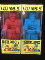 Funko Pop Wacky Wobblers, Rock me Sock me Robots