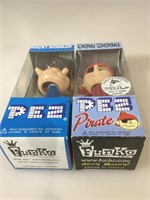 Funko Pop Wacky Wobblers, Pez  Pirate and Pez