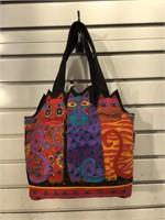 Laurel Burch Cat Purse, light use