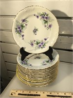 Royal Kent Service for 12 china set with serving