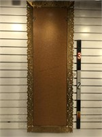 Long mirror in plastic frame