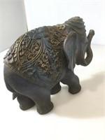 One elephants plastic , blue
