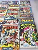Lot of 24 Bronze Age Marvel comics