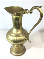 Oversized Brass pitcher, approx 14 inches wide