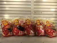 5 NIB Niko Plush animated gift toys