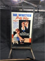DR.Whites health helps Medicine poster w/metal