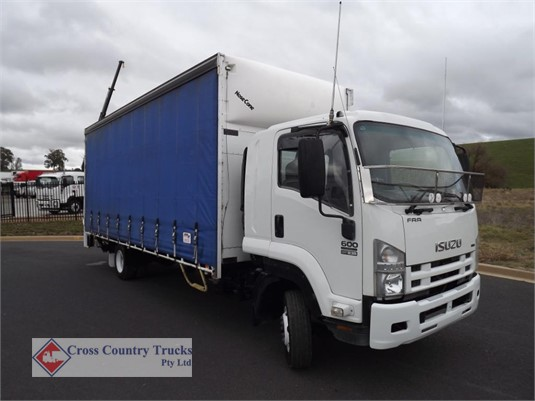 2008 Isuzu FRR 600 Cross Country Trucks Pty Ltd - Trucks for Sale