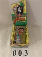 (Box) TOPP'S Baseball Cards