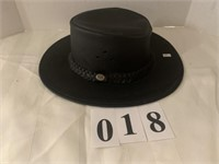 Leather Hat - Size S