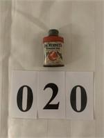 Dr. Wernet's Powder for False Teeth Collector Tin
