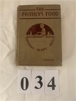 """""""The Family's"""" Cook Book"""