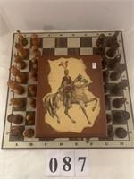 Chess Set w/ Board & Storage Box