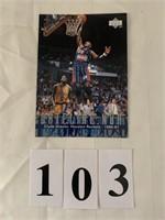 "UPPER DECK ""Large Size"" Sports Card-Clyde Drexler"
