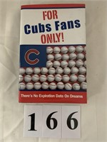 """Book - """"For Cubs Fans Only"""""""
