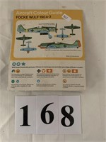 1:72 Scale Model Military Plane - NOT Assembled