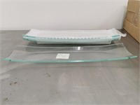 Glass Serving Platter