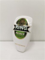 King Brewery Pilsner Draught Tap Handle