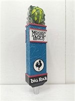 Big Rock Mosaic Lager Draught Tap Handle