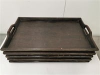"""Wooden Serving Tray - 26"""" x 14"""""""