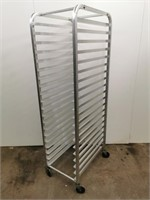 Full Size Aluminium Sheet Pan Rack - 20 Pan