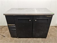 True TBB-24-48 2 Door Back Bar Cooler