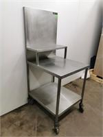Custom All Welded S/S Portable Work Station